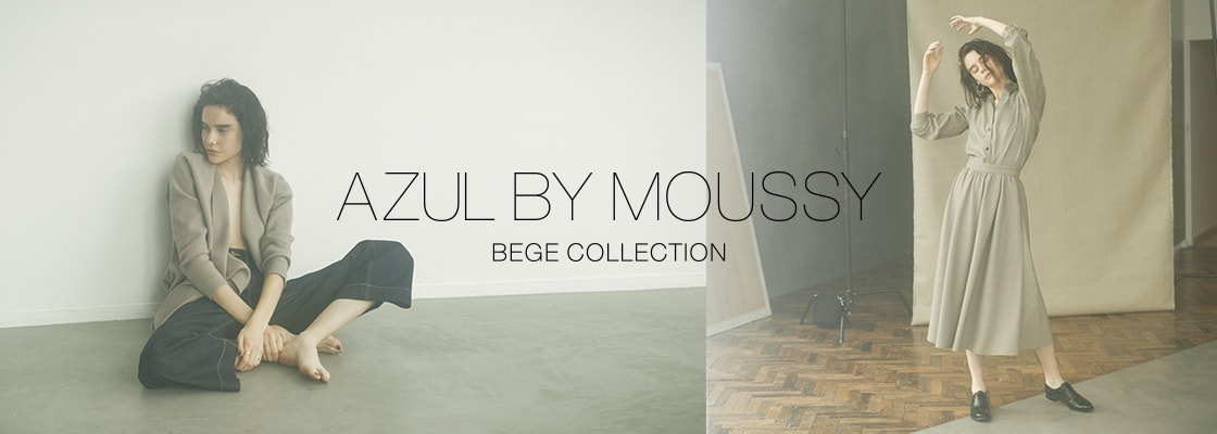 AZUL BY MOUSSY  BEGE COLLECTION