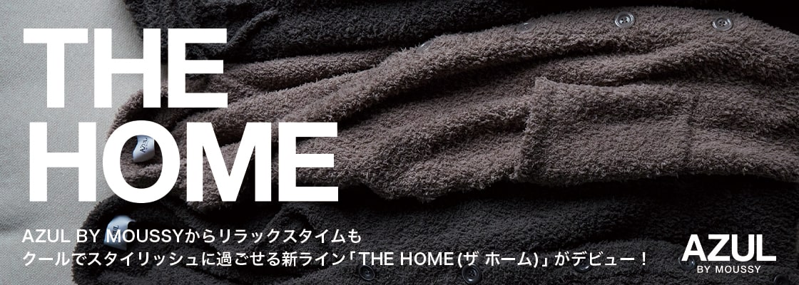 THE HOME BEGINNING NU STANDARD LIFE AZUL BY MOUSSY/ROOM WEAR