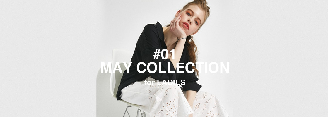 AZUL BY MOUSSY #01 MAY COLLECTION for LADIES