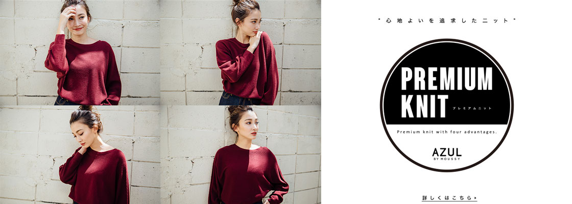 AZUL BY MOUSSY PREMIUM KNIT