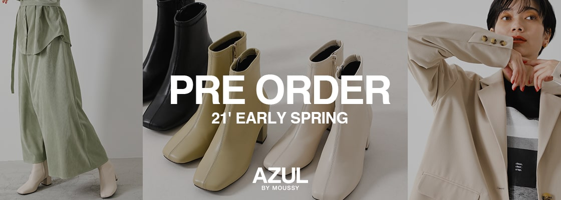 AZUL BY MOUSSY PRE ORDER 21' EARLY SPRING