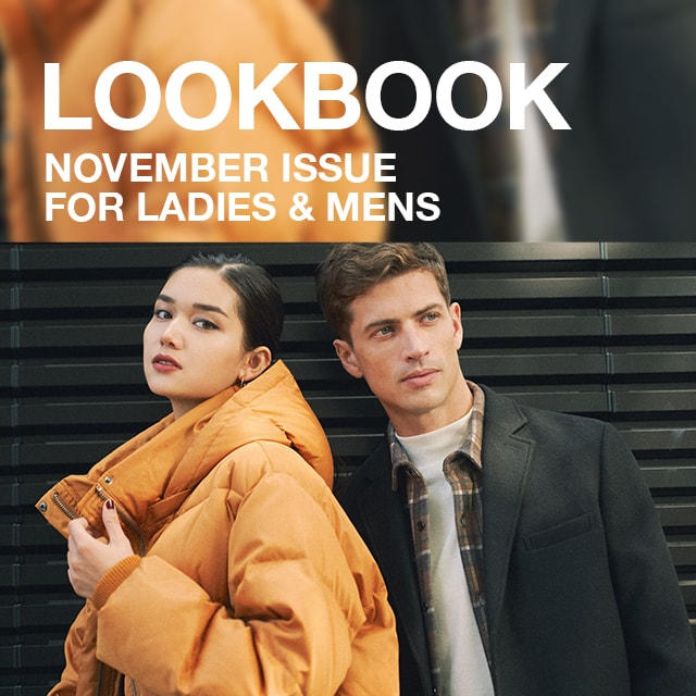 AZUL BY MOUSSY  LOOKBOOK NOVEMBER ISSUE   for LADIES & MENS