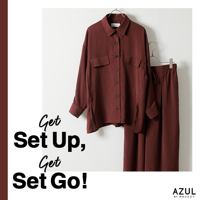 AZUL BY MOUSSY Get Set Up,Get Set Go!