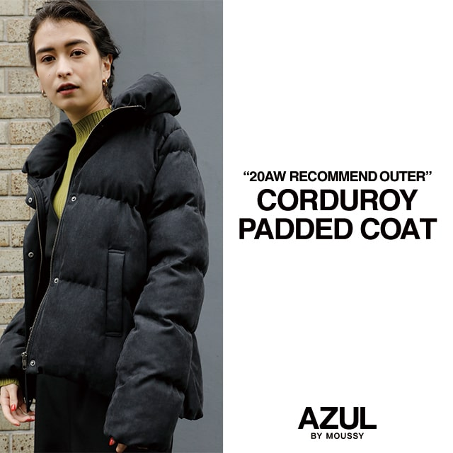 """20AW"" RECOMMEND OUTER CORDUROY PADDED COAT"
