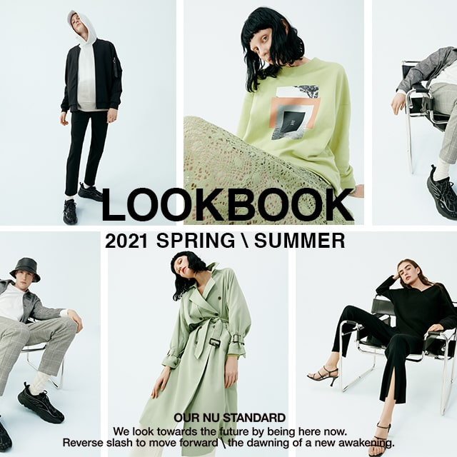 AZUL BY MOUSSY LOOKBOOK 2021 SPRING/SUMMER