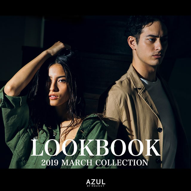 AZUL BY MOUSSY LOOK BOOK 2019 MARCH COLLECTION