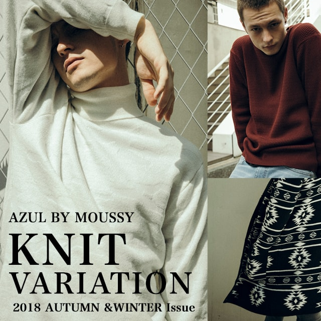 AZUL BY MOUSSY MENS KNIT VARIATION