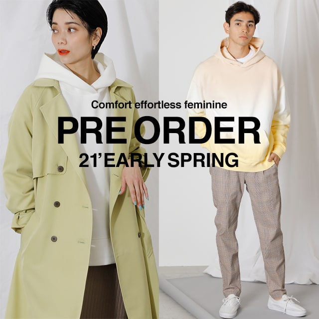 PRE ORDER 21' EARLY SPRING