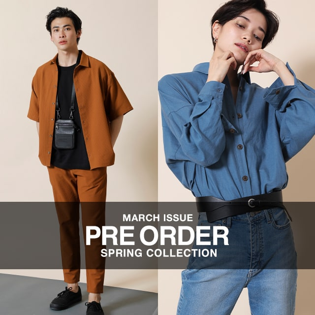 AZUL BY MOUSSY |MARCH ISSUE PRE ORDER SPRING COLLECTION