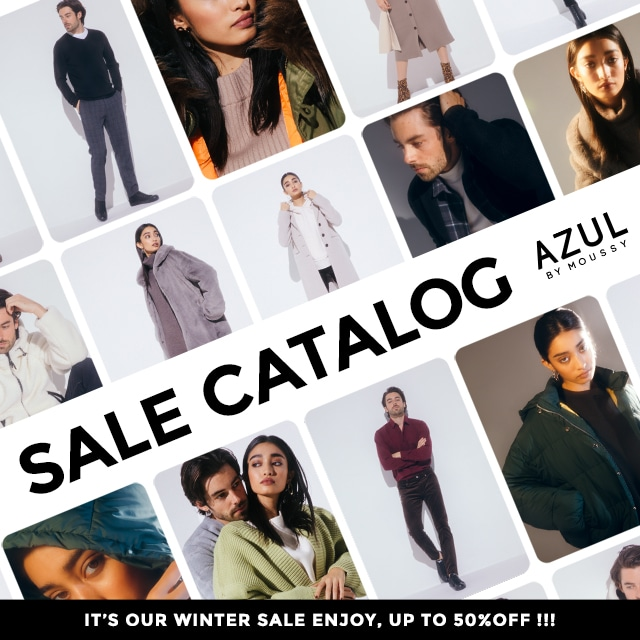 AZUL BY MOUSSY SALE CATALOG  for LADIES & MENS