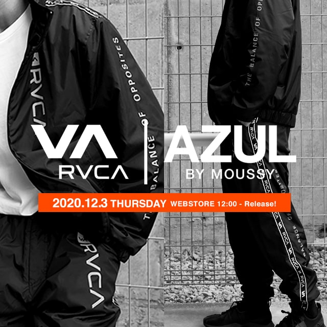 VA RVCA|AZUL BY MOUSSY