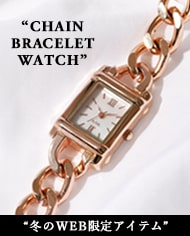 AZUL BY MOUSSY [WEBSTORE限定] CHAIN BRACELET WATCH Pre Order