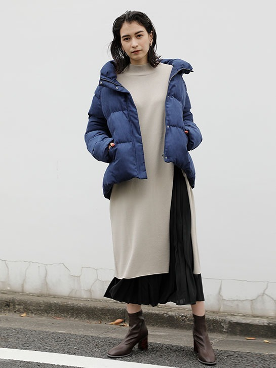 """20AW"" RECOMMEND OUTER CORDUROY PADDED COAT LOOK#02"